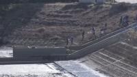 千葉・流山市の調整池に人骨、警察が事件と事故の両面で捜査