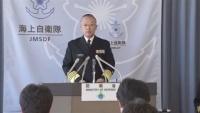 村川海上幕僚長、中国の空母「警戒監視に万全を」