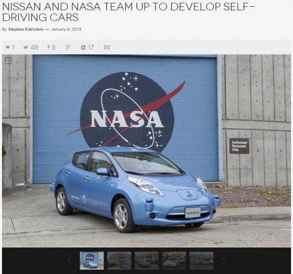 NASAがニッサンと契約。宇宙に日本の自走式車両が走る日が。