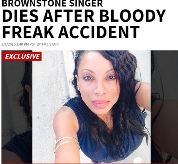 元人気R&B女性シンガーを襲った悲劇。酔って転び、ワイングラスで…。(米)