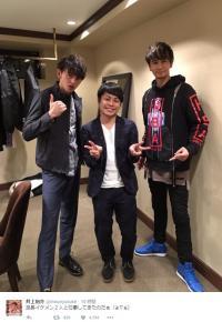 ノンスタ井上、山田涼介と格闘後にツイート「怪我させて、ごめんなさい」