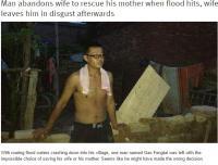 「妻より母を助けた」男性にウェイボー大炎上「あなたはどっちを取る?」(中国)