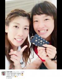 吉田沙保里選手、銀メダルに「けっこう好き」 小椋久美子さん「選手としても人としても偉大」