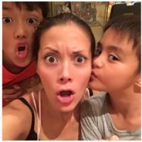 土屋アンナ、息子2人との親子ショット公開 「めっちゃイケメン」「素敵なお母さん」