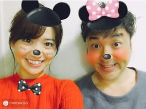 大島優子&ムロツヨシが\u201cミッキー&ミニー\u201dに 愛嬌たっぷりの笑顔が「可愛い」 , エキサイトニュース