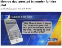 「妻と娘を殺ってくれ」殺し屋へのメッセージを元上司に誤送信した男(米)