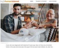 89歳隣人を自宅でケア 最期まで寄り添った31歳の俳優(米)