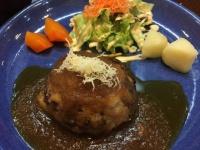 驚くほど肉汁が溢れる! 高尾の「ハンバーグステーキハウス」