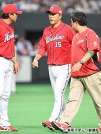 【日本シリーズ】広島・黒田が6回途中緊急降板