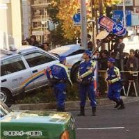 【南青山タクシー事故】ヤクルト球団職員が救助活動