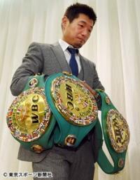 ボクシング世界王者・長谷川穂積が引退発表「腹八分目ぐらいがいい」