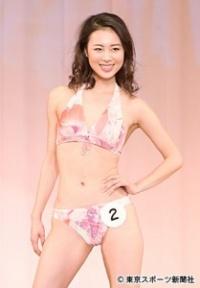 ミス日本グランプリに輝いた高田紫帆さん