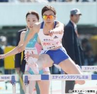 木村文子 100Mハードルで日本人トップ
