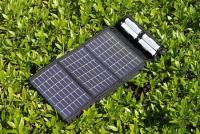 【レビュー】エネループ4本を6時間半で充電できるコンパクトな太陽電池『PowerFilm AA SOLAR CHARGER』