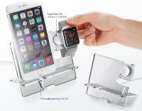 サンワサプライ、iPhoneとApple Watchを充電できるアクリル製スタンドを発売