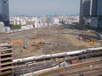 廃止された「うめきた」の貨物駅跡 将来は再び鉄道の要衝に?