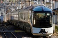 金色の豪華列車「四季島」、本番想定の試運転開始 きょうは「ワインの里」へ