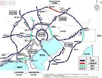 圏央道、茨城区間開通でどう変わる? 都心経由と「迂回ルート」を比較