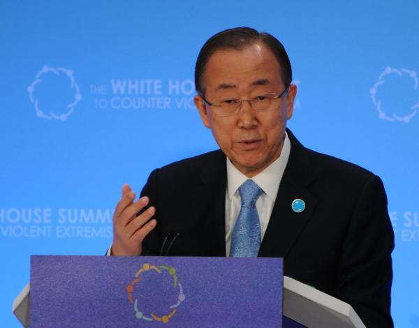 国連の潘基文事務総長が訪日、「日本の指導者は一刻も早い歴史問題解決を」