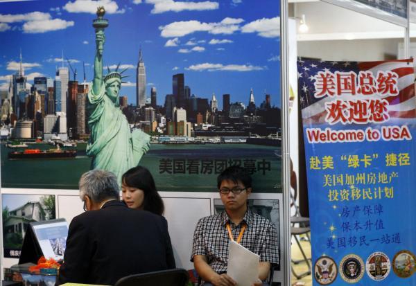 米国投資家向けビザ、中国人の申請急増