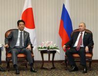 """北方領土返還やっぱりプーチンに騙された""""お坊ちゃま首相"""""""