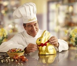 リンツから今年も1キロの「金色チョコうさぎ」