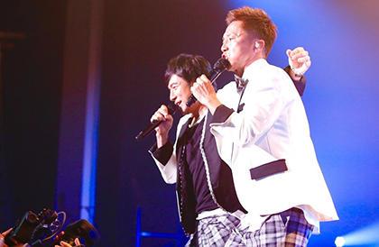 桜井和寿&GAKU-MCによるウカスカジーが2度目の全国ツアー