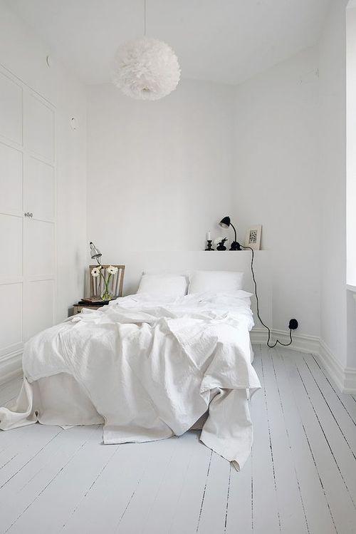 kleine slaapkamer wit ~ lactate for ., Deco ideeën