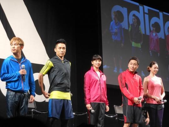 武井咲、太田雄貴をはじめとする豪華アディダスファミリーが『アディダス・トレーニング・アカデミー』に登場