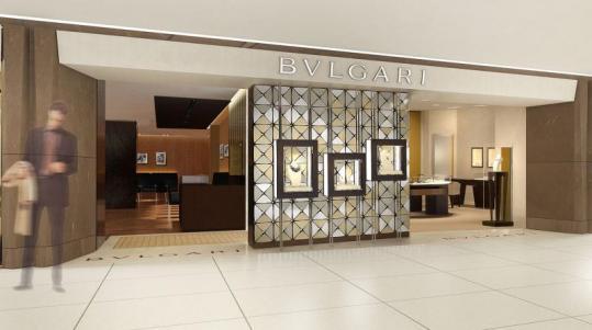 ブルガリ、世界初のインストアカフェを阪急うめだ本店にオープン