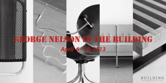 ジョージ・ネルソンのデザイナーズ家具、販売イベントを開催