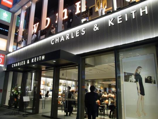 チャールズ&キースの旗艦店がオープン 3年後には約40店舗の出店を計画