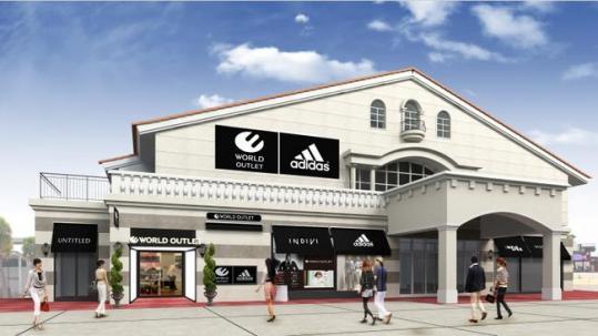 アウトレットマリンピア神戸に「ワールド アウトレット」初出店 約30ブランドを集積