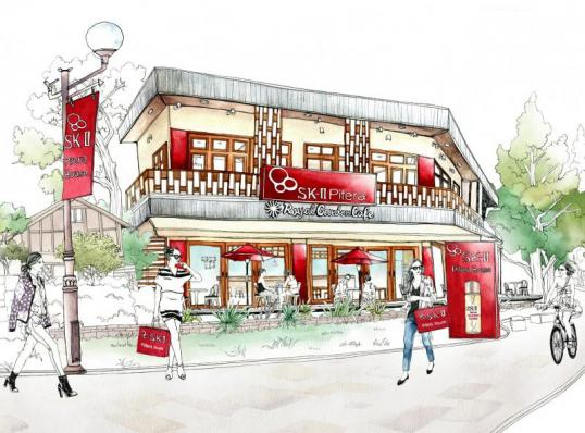 「SK-Ⅱ」表参道と青山にポップアップストアを2店同時オープン