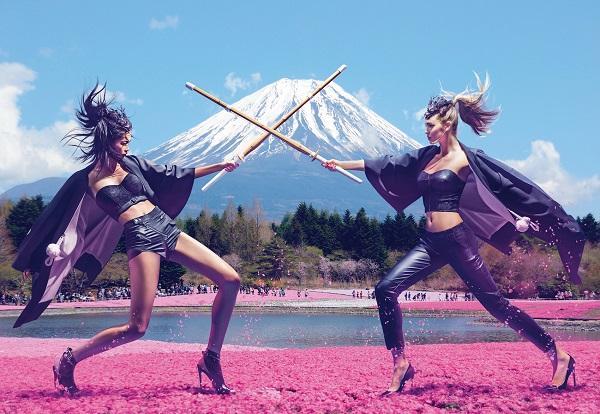 「ゲス(GUESS)」が2014Holiday広告キャンペーンビジュアルを創設以来初めて日本で撮影