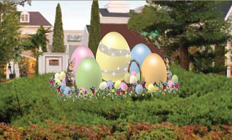 プレミアム・アウトレットで「Spring Special Sale」&春の装飾「HAPPY EASTER」2015年3月20日(金)から開催!