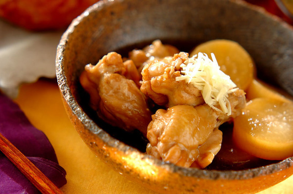 大根と鶏手羽肉のこってり煮 | 大久保恵子さんのレ …