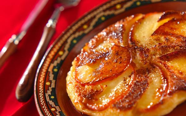 パンケーキ熱が再燃!? リンゴのパンケーキキャラメリゼ
