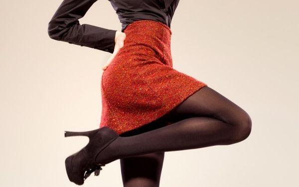 冬のタイツはデニール数にこだわれば、着やせもおしゃれも上手くいく