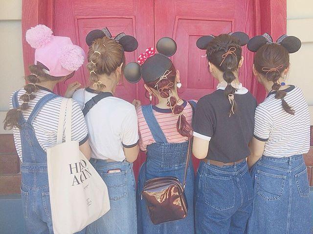 ディズニー 髪型 ヘアバンド