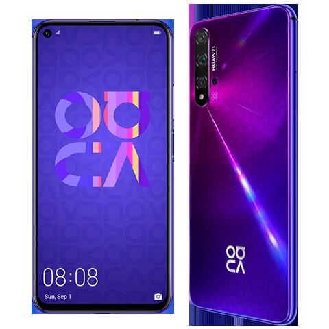 Huawei HUAWEI nova 5T purple