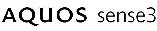 エキサイトモバイル シャープ AQUOS sense3 logo
