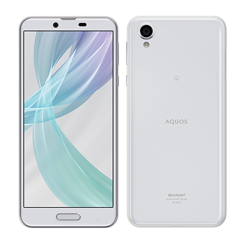 シャープ AQUOS sense plus white