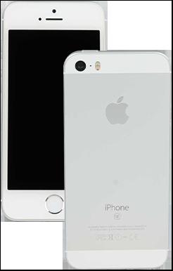 中古 iPhone SE(128GB)海外モデル/Grade A (silver)