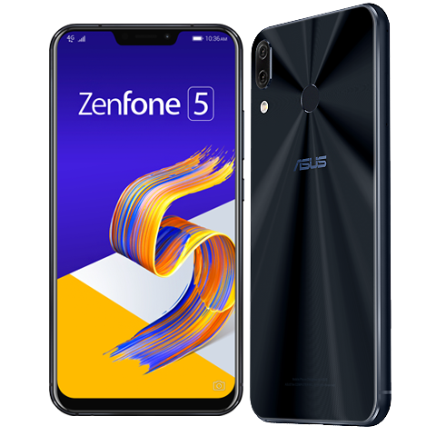 ASUS ZenFone 5 shinyblack