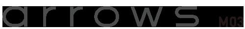 富士通 arrows M03 logo