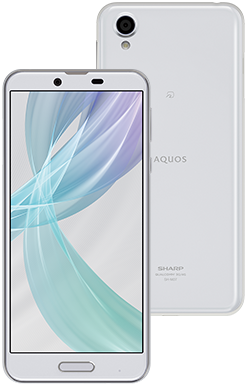 シャープ AQUOS sense plus (white)
