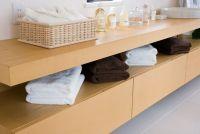 家具と壁の隙間を活用!IKEA&無印を使った収納術