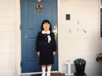 ブルゾンちえみ、小学1年生の頃の写真を公開し「今とまったく変わんない。髪型も、素顔も」