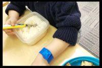 """ギャル曽根、2歳の娘に""""大食い""""が遺伝 大量の白米をもりもり食べる姿公開"""